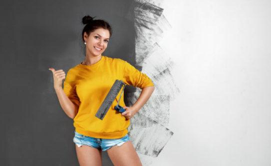 Подготовка поверхности для покраски стен